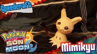 Pokemon Sun & Moon Papercraft ~ Mimikyu ~