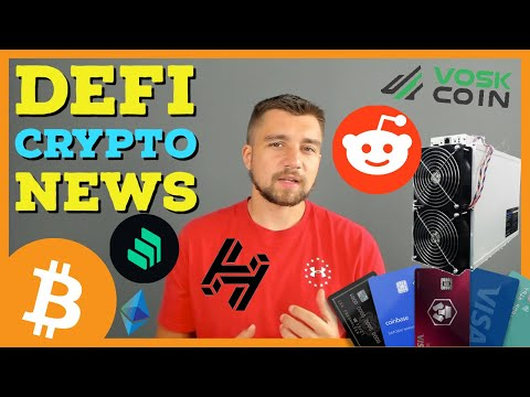 DeFi Crypto News | New Miner Earns $30 A Day | COMP Coinbase | Crypto.com Debit Card