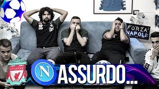 ASSURDO... LIVERPOOL 1-0 NAPOLI | LIVE REACTION NAPOLETANI HD