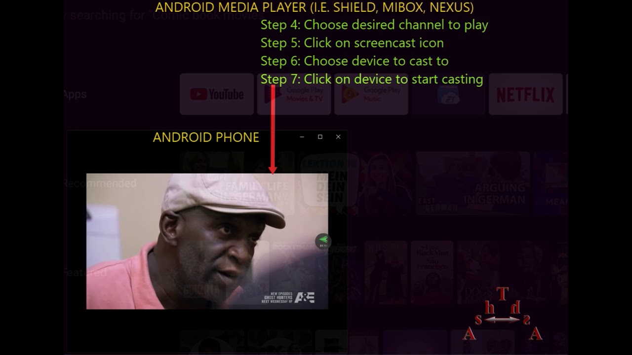 How to Stream From an Android Mobile Device to a Chromecast Enabled Device