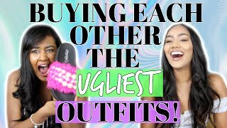 UGLY OUTFIT SHOPPING CHALLENGE 2017!