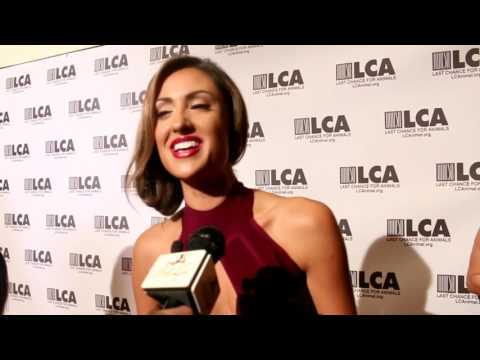 Last Chance For Animals Gala 2016 With Katie Cleary and Stephanie Corneliussen