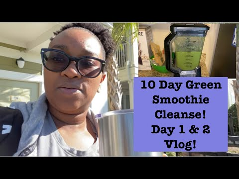 vlog!-10-day-green-smoothie-cleanse-day-1-&-2|-road-to-lose-10-pounds|-krys-the-maximizer