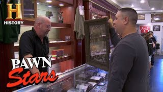 Pawn Stars: Victorian Era Mourning Lithograph | History