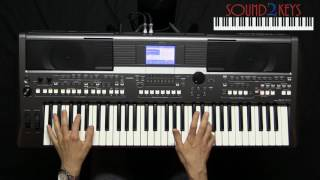 Live Country Beat for Yamaha PSR-S670