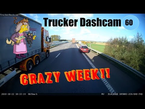Trucker Dashcam #60 Crazy week!! TV, Newspapers, Radio etc.