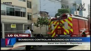 Incendio en Miraflores