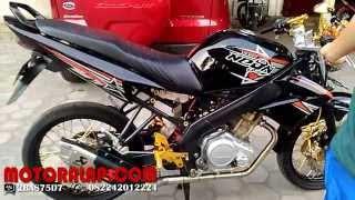 Video Suara Knalpot Racing New Akrapovic Rossi Yamaha Vixion Suara Mirip Ninja (Motoralap Exhaust)