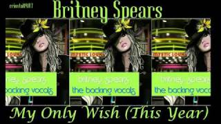 Britney Spears My Only Wish This Year  Instrumental with Backing Vocals