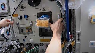 شاهد: للمرة الأولى.. خبز الكعك على متن محطة الفضاء الدولية…