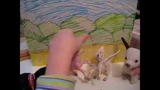 Вольт против трёх / серия 1 / мультфильм с игрушками про супер-собаку