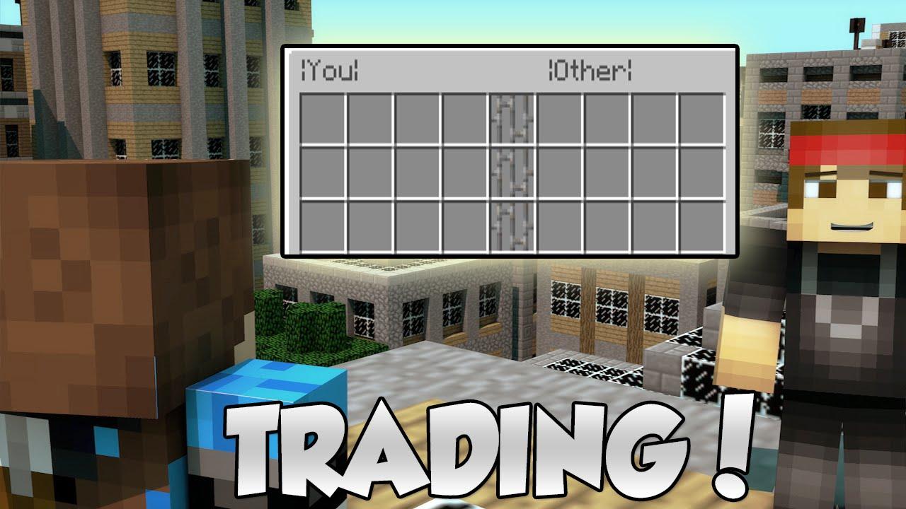 Minecraft safe trading system