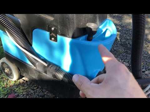 Using My Mytee Lite ii 8070 Hot water Carpet Extractor