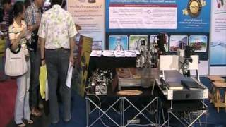 Exhibition of SmartCNCs in Thailand Industrial Fair 2010 #3