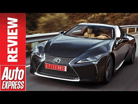 Lexus LC Coupe review: striking GT car is full of tech