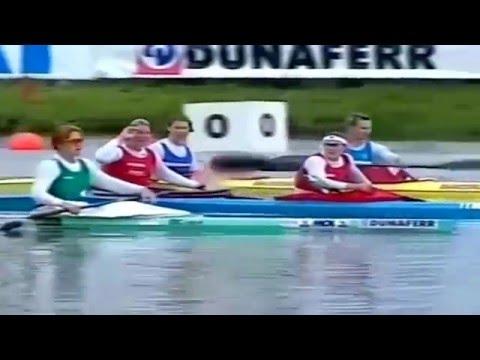 1998 ICF World Championship Canoeing Szeged Woman's K-2 200 m Final (16:9)