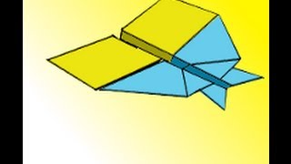 How to Make the Extreme Pelican Paper Airplane Instructions Video