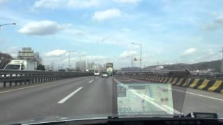 헤드업디스플레이 허드비젼 F35 3D 증강현실을 도로에…