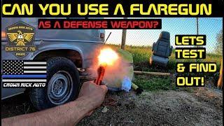 Can You Use A Flare gun As A Self Defense Weapon? Crown Rick Auto PUBG