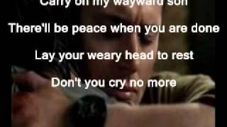Supernatural Theme soundtrack with Lyrics!! Comment me and let me k...