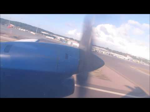 Flight Vlog Inter Caribbean Providenciales to Grand Turk EMB 120 VQ-TBC