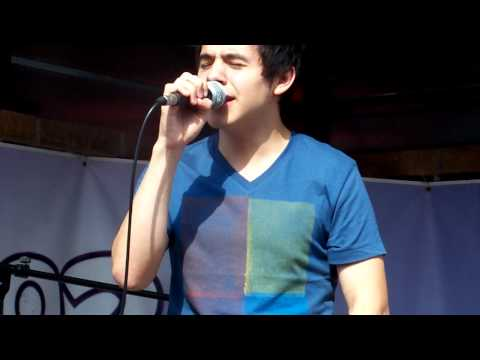 David Archuleta - Just a Little To Not Over You (LIVE)