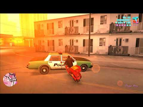 Grand Theft Auto Vice City- Shine o'Vice using a playstation 2 controller