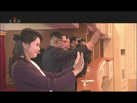 North Korean state media releases footage of K-pop concert