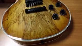 Пробный обзор китайской реплики мастеровой гитары Гибсон Лес Пол