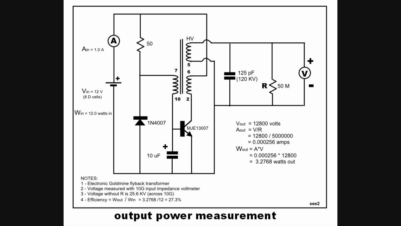 flyback output power