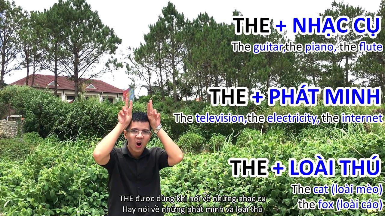 """NGẮM HOA LỆ RƠI – Thầy giáo 9x – MẠO TỪ """"THE"""""""