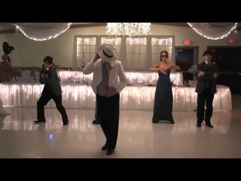 Первый свадебный танец в стиле Майкл Джексон