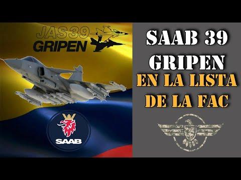 Saab 39 Gripen NG Para La F.A.C Historia Del Desarrollo Del Gripen