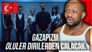 Gazapizm - Ölüler Dirilerden Çalacak TURKISH RAP MUSIC REACTION!!!