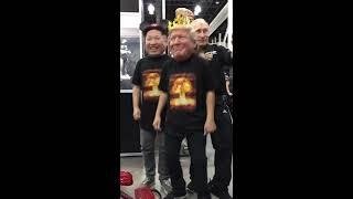 Между нами тает лед. Трамп, Ким, Путин. (Грибы)