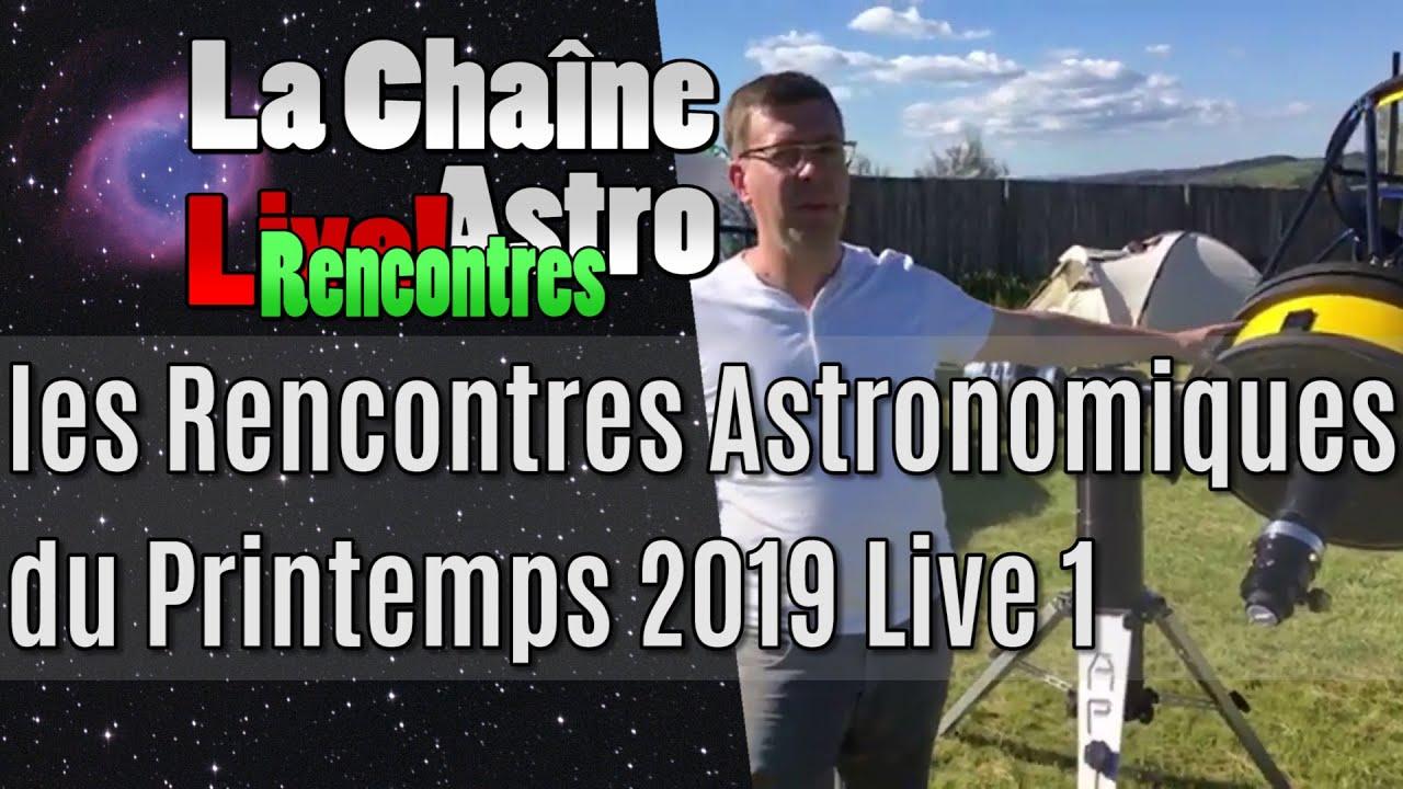 rencontre astronomique printemps 2021