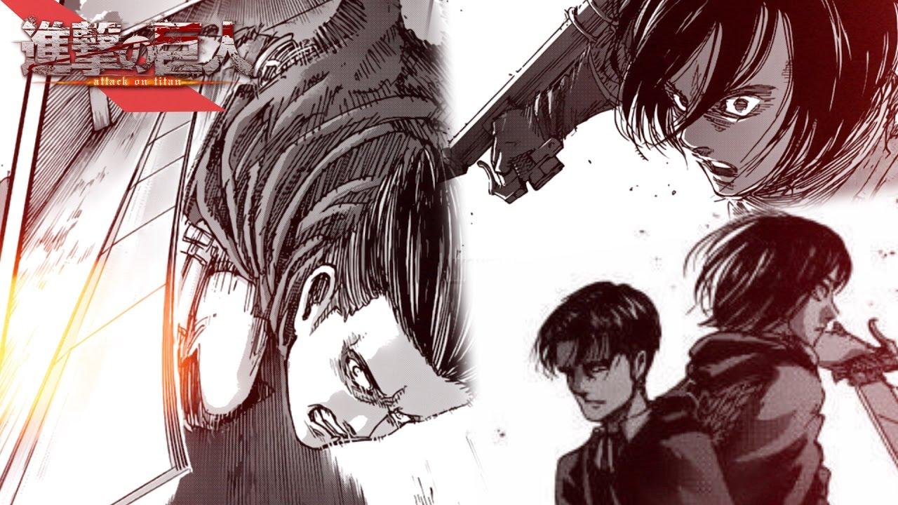 el secreto de levi y mikasa shingeki no kyojin 93