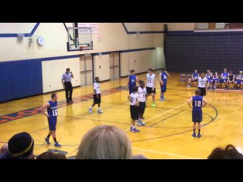 Worst Basketball Referee Ever! Foul on #5 ???