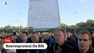 TERUGKIJKEN: #boerenprotest: boeren en RIVM op podium in De Bilt