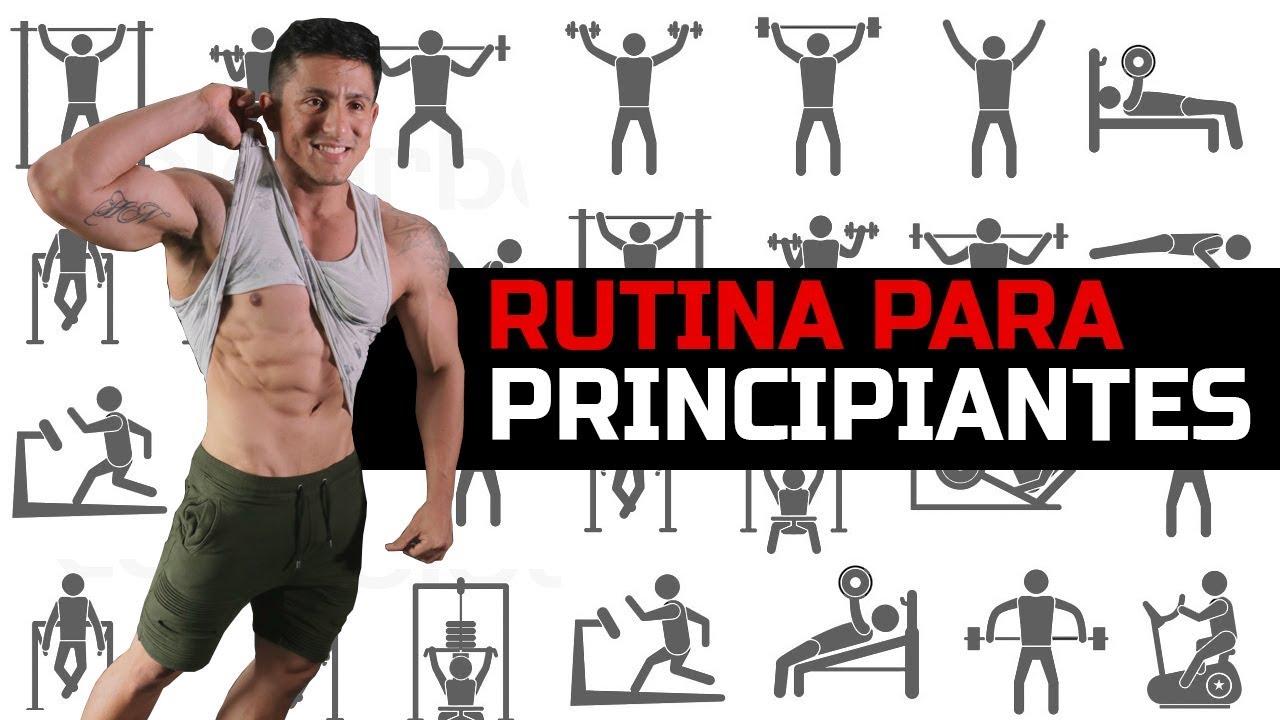 ejercicios para principiantes gym mujeres
