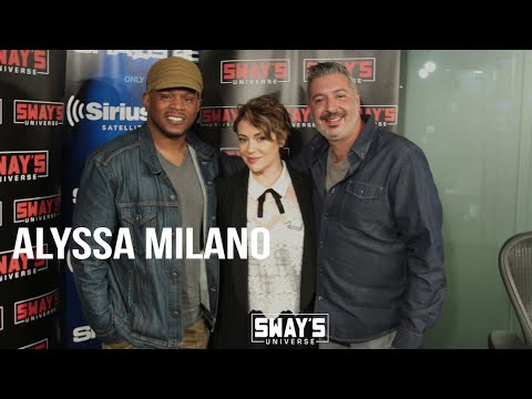Alyssa Milano and Alec Ledd on Breaking Into Her Assistant's House to Make