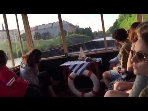 Riverboat ride on the Morava River - Olomouc, Czech Republic - May 2016
