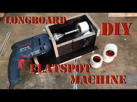 DIY: Flatspot Machine Longboard (English / Deutsch)