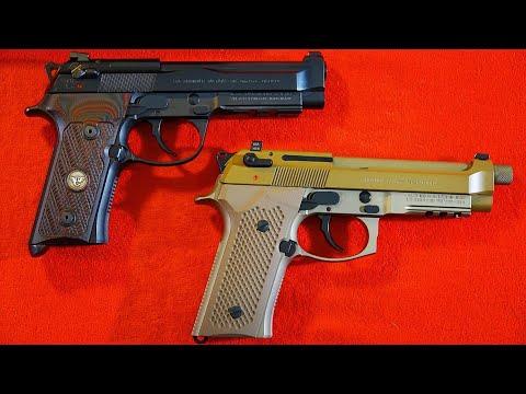 Beretta M9A3 vs Beretta/Wilson Combat 92G Vertec Brigadier Tactical