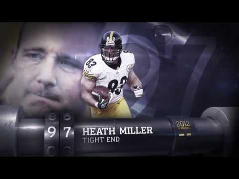#97: Heath Miller (TE, Steelers) | Top 100 Players of 2013 | NFL