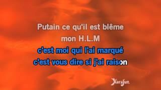 Karaoké Dans mon H.L.M - Renaud *