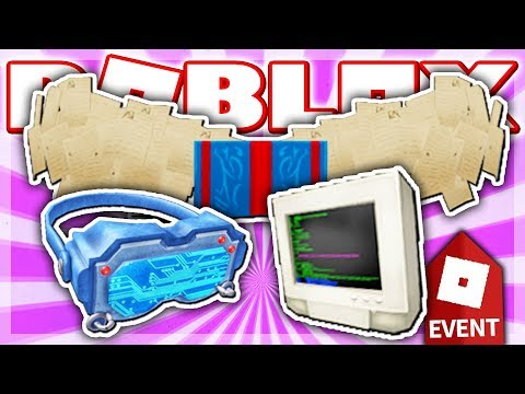 HOW TO GET THE BOOK WINGS, MOTHERBOARD VISOR & CLASSIC PC HAT! Roblox CREATOR CHALLENGE EVENT 2018