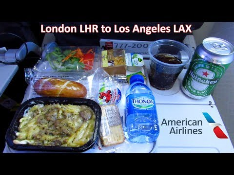 TRIP REPORT | AMAZING American Airlines (ECONOMY) | London to Los Angeles LAX | Boeing 777-200