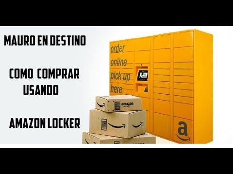 Como utilzar Amazon Locker - Para turistas - Español