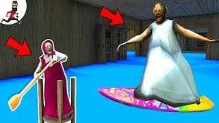 Granny Masha made Flood in Granny House Two ★ Funny Horror Animation ★ Granny Cartoon ★ Part 3